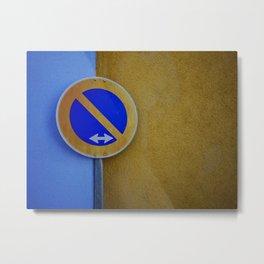 The Sign / Color Swap Metal Print