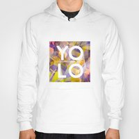 sayings Hoodies featuring Dreams of YOLO Vol.1 by HappyMelvin