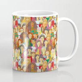 Pattern #75 - The gaze of sisterhood Coffee Mug