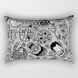 heaps of heads Rectangular Pillow