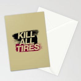 Kill All Tires v5 HQvector Stationery Cards