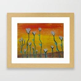 Desert Flowers Framed Art Print