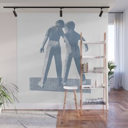 Brothers duo Wall Mural