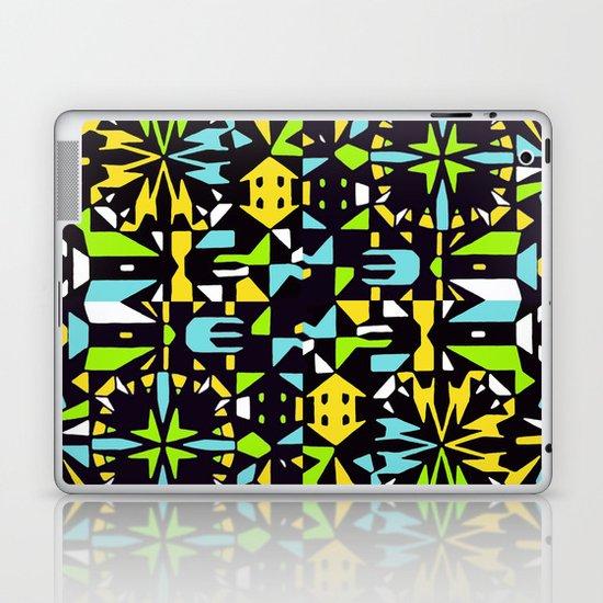 Square 3 color option 2  Laptop & iPad Skin