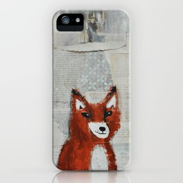What the fox knows iPhone Case