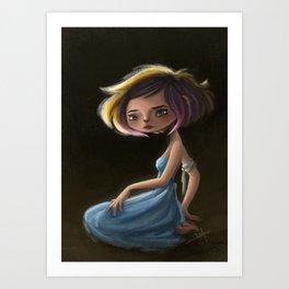 Bad Yogini 02 Art Print