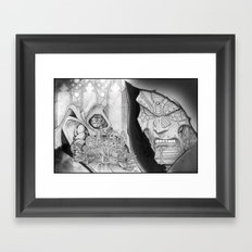 Doom! Framed Art Print