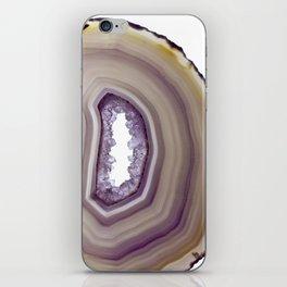 Iris and butterscotch Agate iPhone Skin
