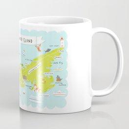 map of PEI Coffee Mug