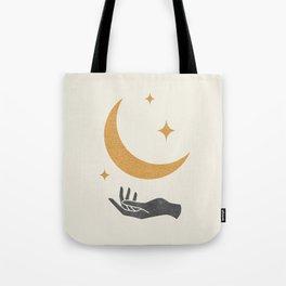 Moonlight Hand 1 Tote Bag