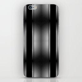 Carbon Stripe Honeycomb Pattern iPhone Skin