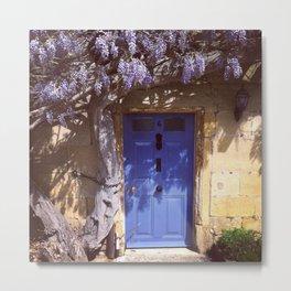 English Doorway Metal Print