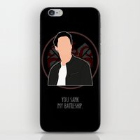 agents of shield iPhone & iPod Skins featuring Agents of S.H.I.E.L.D. - Ward by MacGuffin Designs