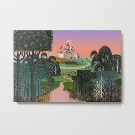 Dream for a Castle Metal Print
