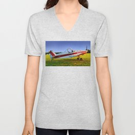 Tow Plane, Philadelphia Glider Council Unisex V-Neck