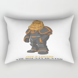 JACK-O-LANTERN The Bounty Hunter Rectangular Pillow