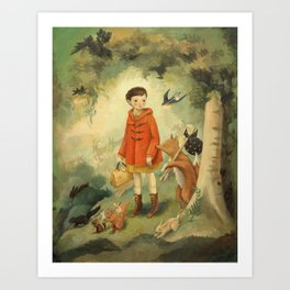 Out of the Woods Art Print