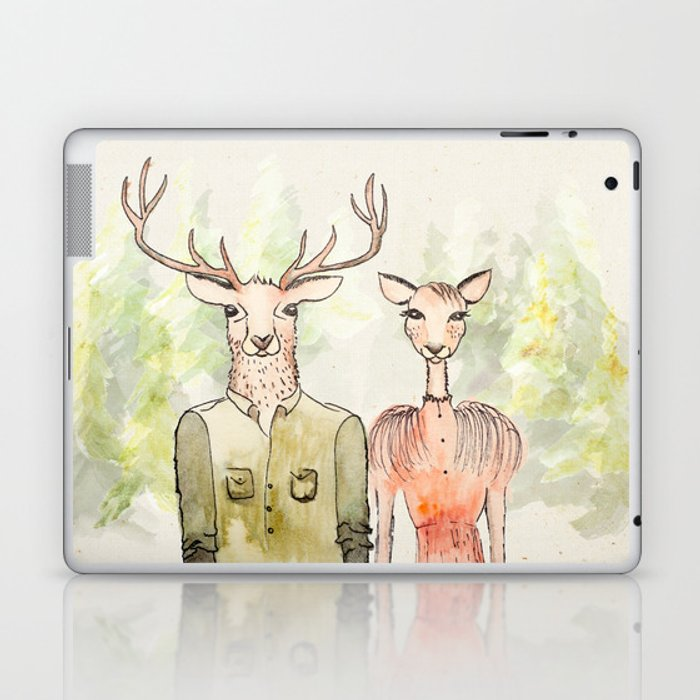 Together in Happy Land Laptop & iPad Skin