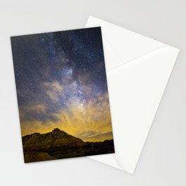 Fiery Night in Palo Duro Canyon Stationery Cards