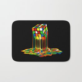 Rainbow Abstraction melted rubix cube iPhone 4 5 6 7 8, pillow case, mugs and tshirt Bath Mat