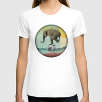 balance T-shirts featuring Balance by Vin Zzep