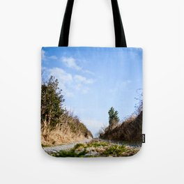To the lake. Tote Bag