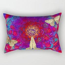 Feel it still Rectangular Pillow