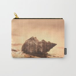 Big Shell on the sea Carry-All Pouch