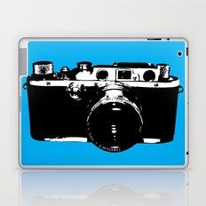 Leica in Blue Laptop & iPad Skin