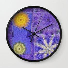 Mopey Feeling Flower  ID:16165-060813-24921 Wall Clock