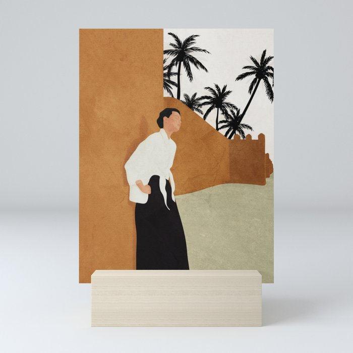 Backbone Mini Art Print