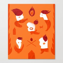Firebirds Canvas Print
