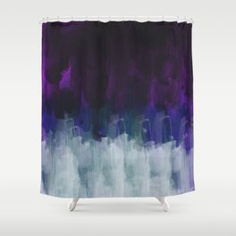 Abstract watercolor texture I Shower Curtain
