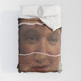 Mrs. Doubtfire, Robin Williams, movie poster, Pierce Brosnan, Chris Columbus, 90s film Comforters
