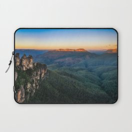 Three Sisters Sunrise View in Blue Mountains, Australia Laptop Sleeve
