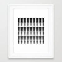 arrows Framed Art Prints featuring Arrows by Elisabeth Fredriksson