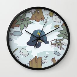 harrowed lost and bound Wall Clock