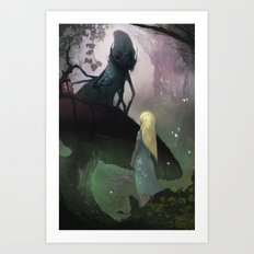 Love of Alice Art Print