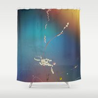 fat Shower Curtains featuring Fat by Nigel Evan Dennis