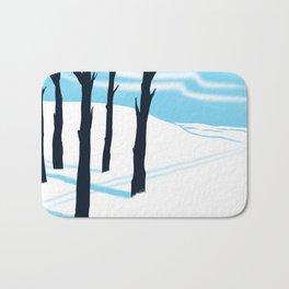 Schussboomer Winter Bath Mat