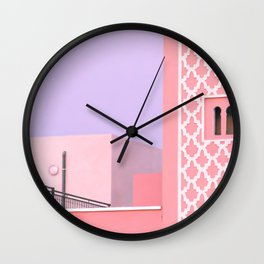 Marrakech Medina - Traditional Morocco Photography Wall Clock