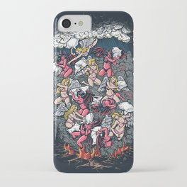 good vs evil  iPhone Case