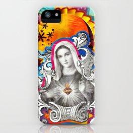 Imaculado Coração de Maria (Immaculate Heart)  iPhone Case