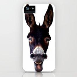 Laughing Donkey iPhone Case