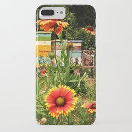 Bee Sanctuary Garden iPhone Case