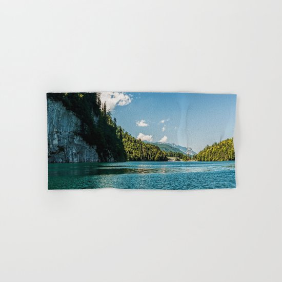 Koenigssee lake Bavaria Mountains Alps Hand & Bath Towel