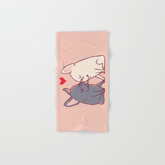 French Kiss Hand & Bath Towel