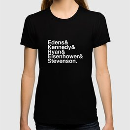 Helvetica Chicago Expressways Reversed T-shirt