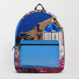 Blue Domes of Churches Backpack