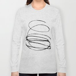 My mind is a mess. Long Sleeve T-shirt
